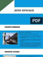 CONCRETOs Especiales Ppt (2)