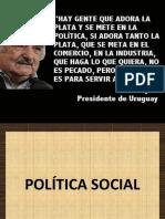 1.1 Política Social