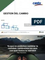 Gestion Del Cambio COR CANTV Julio 2018
