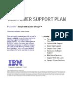 Sample+Customer+Support+Plan+for+IBM+System+Storage