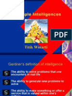 Multiple Intelligences Presentation