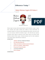 Buku Bahasa Inggris SD Kls 4 Bubat