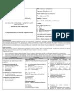 N814 Comportamiento y Desarrollo Organizacional