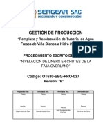 OT630 SEG PRO 037_Nivelacion Liner Chutes