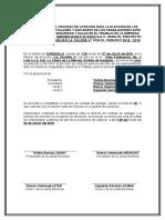 07. Formato - Acta de Inicio de Proceso de Elección de Representantes de Los Trabajadores
