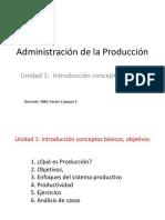 Produccion-Productividad