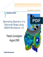 Generating geometry of a deformed shape using Workbench.pdf