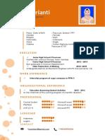 CV Dan Surat Lamaran (English)