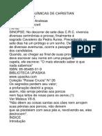 As Bodas Alquímicas de Christian Rosenkreutz.docx