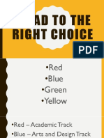 Road to the Right Choice