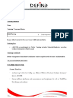 Guidelines on Technical Specifications