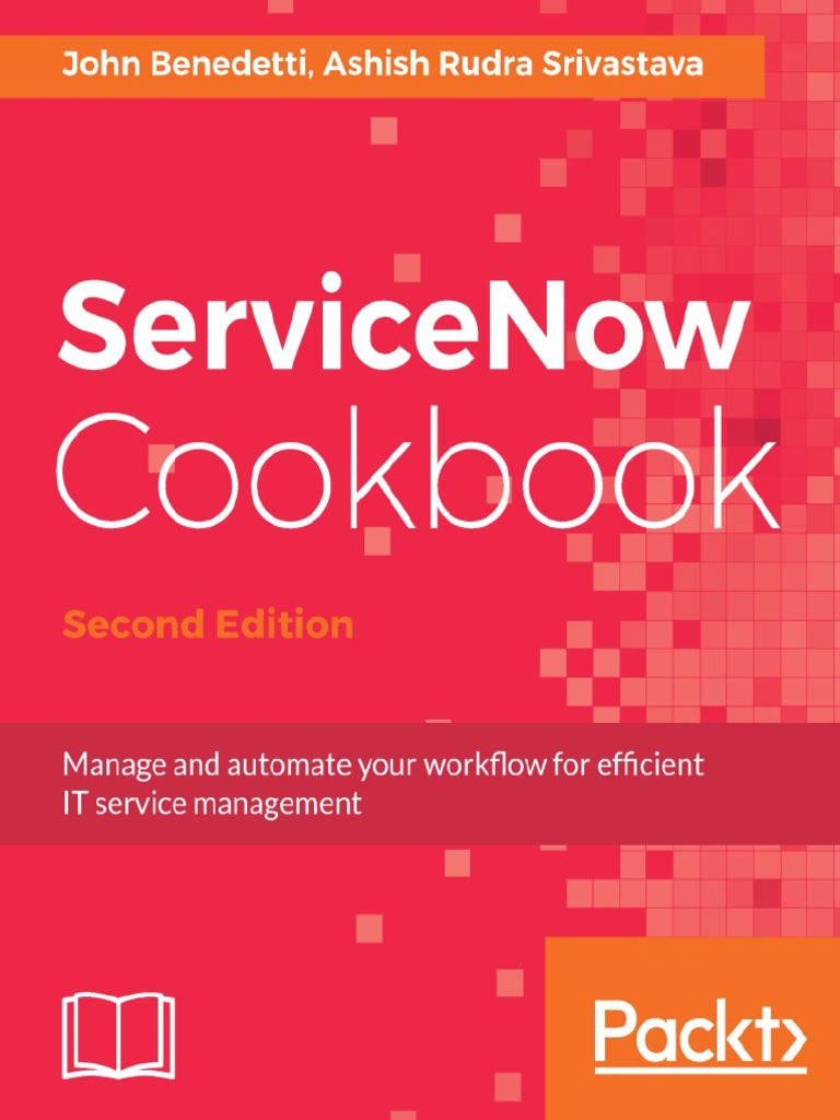 servicenow-cookbook-2nd pdf | Itil | It Service Management