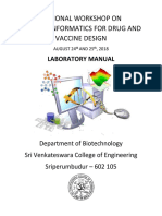 Front and Back Cover Page for Lab Manual