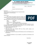 Surat Permohonan Tdp Pt Hds