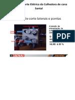 Sll-Testes na parte Elétrica da Colhedora de cana Santal.doc