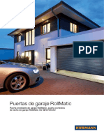 85900 Garage Roller Doors RollMatic ES