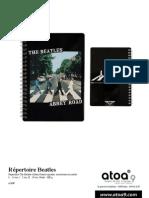 Atoa9-Répertoire Beatles