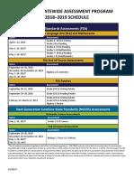 statewide-assessment-calendar-2018-2019
