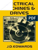 Electrical Machines and Drives an Introduction to Principles and Characteristics