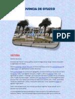 Otuzco- Informe