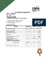 Transistor NPN - 2SD880Y