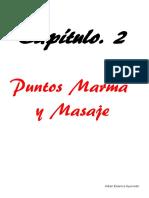 Puntos Marma y Masaje Abhyanga