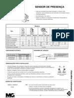 Sensor de presença MPT-40S  MPT-40SF