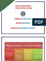 Operaciones Con Derivadas