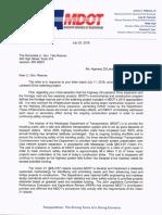 Response Letter Lt. Gov. 7-25-18