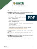 Estructura del Informe del Proyecto.doc