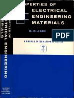 1967 Jain PropertiesOfElectricalEngineeringMaterials