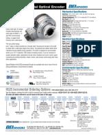 HS25 Optical Incremental Encoder