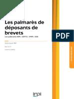 IMPI - Stats Brevets - Palmares 2017