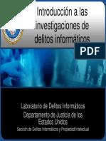 Introducción a las investigaciones de delitos Informaticos