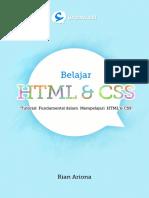 Belajar HTML dan CSS - Tutorial Fundamental dalam mempelajari HTML dan CSS.pdf
