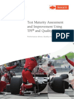 Test Maturity Assessment and Improvement Using TPI and Quality Blueprint
