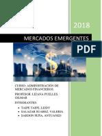 Mercados Emergentes Of