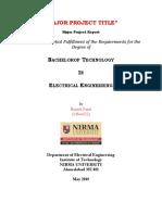 Major Project Report Format_2018