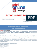 sap oil and gas training