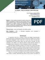 UMA QUESTÃO DE GÊNERO - ONDE AS IMAGENS TERRITORIALIZAM