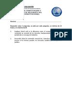 Evaluación N° 1 - Diplomado - Teoría de la Constitución (1)
