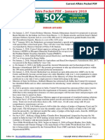 Current Affairs Pocket PDF - January 2018 by AffairsCloud