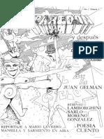 Juan Gelman antologa a Juan Gelman