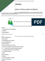 Sobre ar nhi´nhi´ ar Atlapulco _ Sobre el pueblo de Atlapulco _ ATLAPULCO RADIO COMUNAL