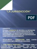 3.- La Jurisdicción