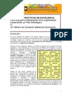 Veinte Practicas De Excelencia Para Impulsar Un Plan Estrategico O Un Tablero De Comando.doc