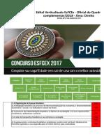 V2 Edital Verticalizado EsFCEx Área Direito