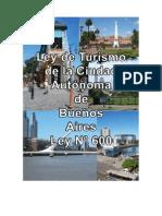 Ley de Turismo de la Ciudad Autónoma de Buenos Aires Nº 600