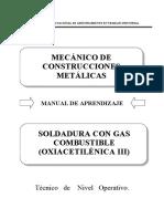 89000728 Soldadura Con Gas Combustible (Oxiacetilenica III)