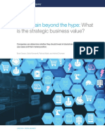 Blockchain Beyond the Hype What is the Strategic Business Value